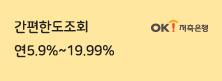 간편한도조회 연5.9%~19.99%